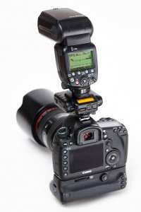 E-TTL flash on Canon body